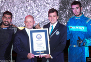 Guinness World Records World's Longest Twin Vehicle Drift