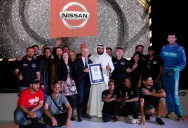 Prodrift Academy and Nissan Guinness World Record